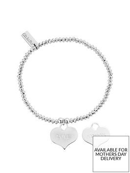 chlobo-sterling-silver-mini-disc-love-always-bracelet
