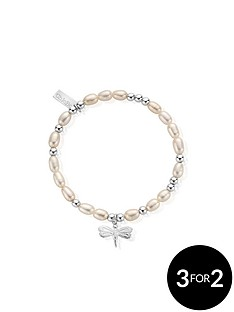 chlobo-chlobo-sterling-silver-mini-pearl-dragonfly-bracelet