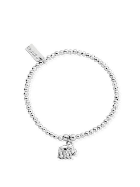 chlobo-sterling-silver-cute-charm-elephant-bracelet