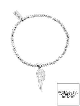 chlobo-sterling-silver-mini-disc-angel-wing-bracelet