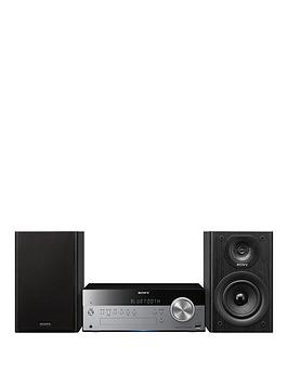 Sony CmtSbt100B Micro Hifi With Wireless Streaming And Dab Radio  Black