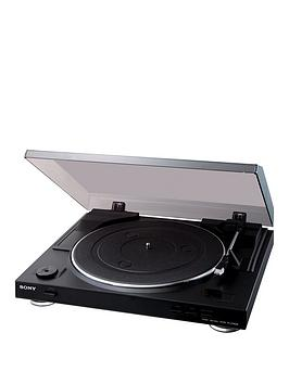 Sony PsLx300 Usb Turntable With Diamond Stylus And Usb Connection  Black