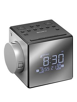 Sony IcfC1Pj Clock Radio With Time Projector