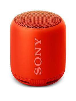 Sony SrsXb10 Compact Portable Speaker With Extra Bass&Trade  Red
