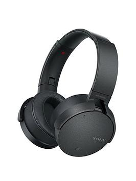 Sony MdrXb950N1 Wireless Noise Cancelling Extrabass Headphones  Black