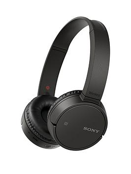 Sony MdrZx220Bt Bluetooth Nfc Headphones  Black