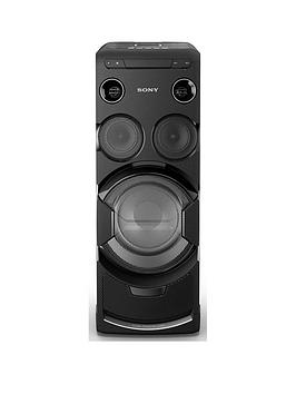 Sony MhcV77Dw High Power Home Audio System With Bluetooth And WiFi  Black