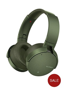 sony-mdr-xb950n1nbspnoise-cancelling-extrabassnbspwireless-headphones-green