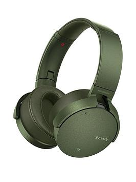 Sony MdrXb950N1 Wireless Noise Cancelling Extrabass Headphones  Green