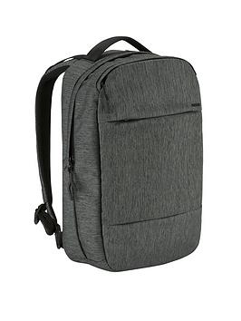 Incase City Compact Backpack For 15Inch MacbookLaptop &Ndash Heather BlackGunmetal Grey