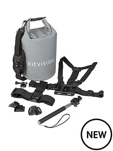 kitvision-stylish-5-litre-dry-bag-with-strap-and-accessories-for-action-camera