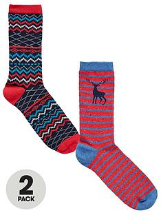 totes-isotoner-totes-2pk-ankle-socks-in-cracker-box