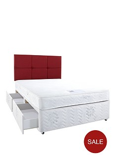 hush-from-airsprung-astburynbspmemory-divan-bed-with-optional-storage-and-next-day-delivery