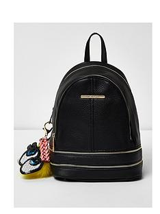 river-island-mini-charm-zip-backpack