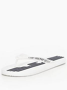 Emporio Armani Flip Flop  White