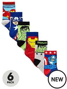 marvel-avengers-6-pack-of-boys-socks