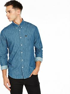 lee-denim-button-down-shirt