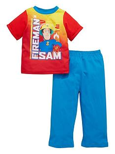 fireman-sam-boys-short-sleeve-pyjamas