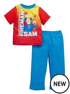 fireman-sam-fireman-sam-boys-short-sleeve-pyjamas