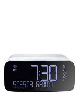Pure Pure Siesta Rise DabFm Bedside Clock Radio