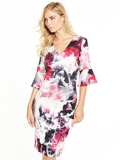 v-by-very-printed-scuba-bodycon-dress