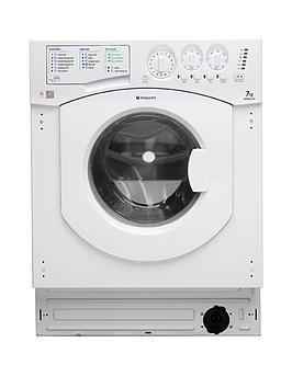Hotpoint Aquarius Bhwm1292 1200 Spin 7Kg Load Integrated Washing Machine   Washing Machine With Installation