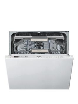 Whirlpool   Wio3O33Del Built-In 14-Place Dishwasher With Quick Wash, 6Th Sense, Power Clean Pro, Power Dry - White - Dishwasher Only