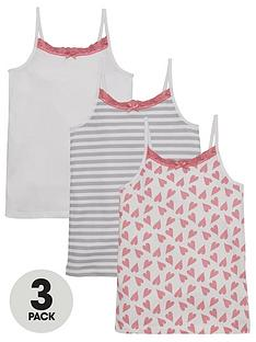 v-by-very-3pk-heart-stripe-vests