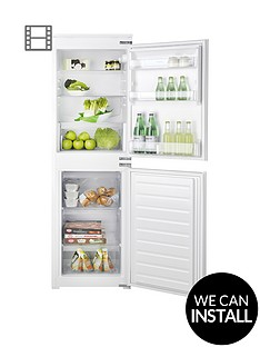hotpoint-hmcb5050aanbsp177cmnbsptallnbsp54cmnbspwide-built-in-auto-defrost-fridge-freezer-with-optional-installation-white