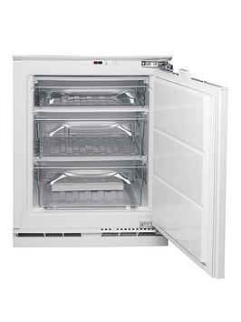 Hotpoint Hza1 55Cm Integrated Under Counter Freezer   Freezer Only