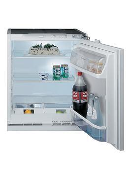 Hotpoint Hotpoint Hla1 60Cm Built In Under Counter Fridge - White - Fridge  ... Picture