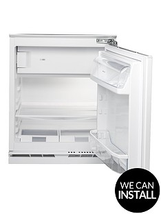 hotpoint-hfa1uk-55cm-built-in-under-counter-fridge