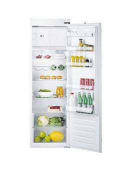 Hotpoint Hsz1801Aa 177Cm High 55Cm Wide Integrated Upright Fridge With Ice Box And Optional Installation  Fridge Only