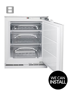 hotpoint-aquariusnbsphza1-60cm-wide-integrated-under-counter-freezer-with-optional-installation-white