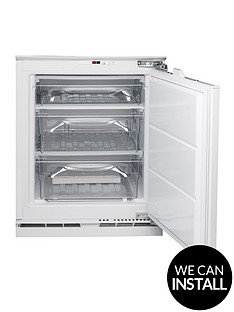 hotpoint-hza1-815cm-high-60cm-wide-integrated-under-counter-freezer-with-optional-installation-white