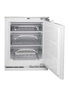 Hotpoint Hza1 81.5Cm High 60Cm Wide Integrated Under Counter Freezer   Freezer With Installation