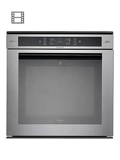 whirlpool-akzm8920gknbsp60cm-built-in-electric-single-oven-with-optional-installation--nbspstainless-steel
