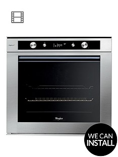 whirlpool-fusion-akzm6540ixl-built-in-electric-single-oven-with-optional-installation-stainless-steel