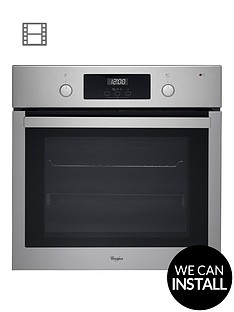 whirlpool-absolute-akp745ix-built-in-electric-single-oven-with-optional-connection-stainless-steel