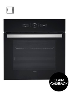 whirlpool-absolute-akz6230nbnbsp60cm-built-in-electric-single-oven-with-optional-installation-black