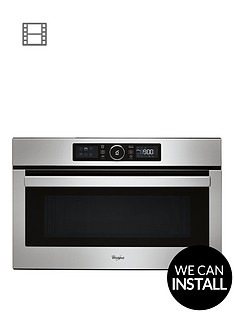 whirlpool-absolute-amw730ix-built-in-microwave-with-optional-installation-stainless-steel