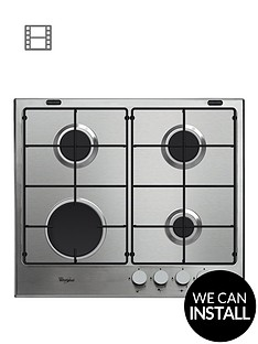 whirlpool-absolute-gma6411ix-built-in-gas-hob-with-optional-installation-stainless-steel