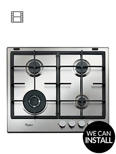 whirlpool-absolute-gma6422ix-built-in-gas-hob-stainless-steel