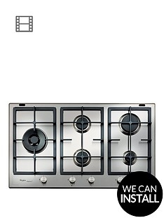 whirlpool-fusion-gmf9522ixl-built-in-gas-hob-with-optional-installation-stainless-steel