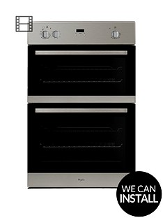 whirlpool-akw501ixnbspbuilt-in-electric-double-oven-with-optional-installation-stainless-steel