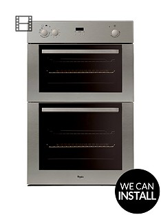 whirlpool-akw601ix-built-in-electric-double-oven-with-optional-installation-stainless-steel