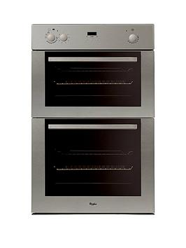 Whirlpool Akw601Ix Built In Electric Double Oven   Oven Only
