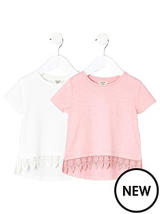 river-island-mini-girls-2-pack-crochet-t-shirts