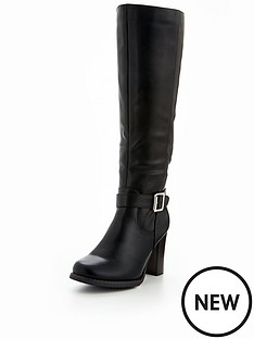 v-by-very-prosper-cleated-sole-buckle-detail-knee-high-boot-black