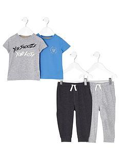 river-island-boys-grey-print-pyjama-multipack